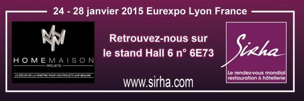Home Maison Projets sera présent au Sihra à Lyon !